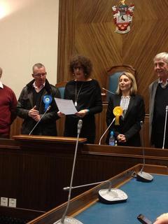 Liz Cohen declared Councillor for Shenfield
