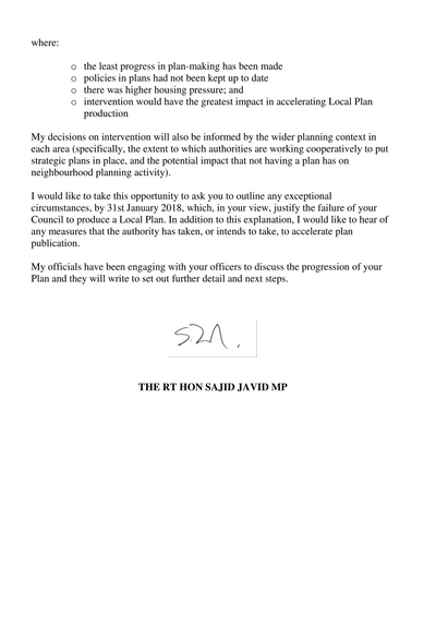 LOCAL PLAN INTERVENTION (16 November 2017) *Page 2of2