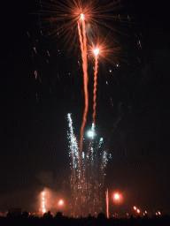 Fireworks at the 2001 Blackheath display in south-east London.