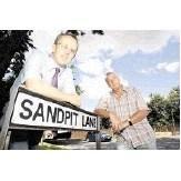 Cllr David Kendall & Cllr Barry Aspinell at Sandpit Lane