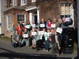 Old House users with Lib Dem councillors and borough council candidates