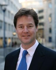 Nick Clegg MP, Lib Dem Leader