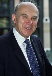 Vince Cable MP, Lib Dem Treasury Spokesman