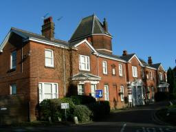 Highwood Hospital - where a development of 250 homes is planned