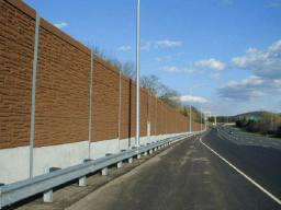 Noise barriers, like these, could be installed
