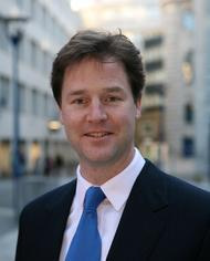 Nick Clegg MP, Leader of the Liberal Democrats