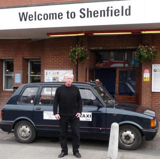 Barry at Shenfield station