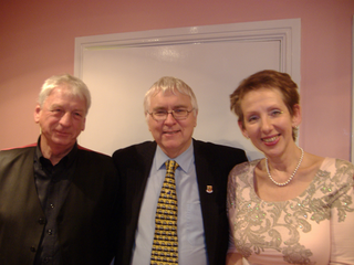 Cllr Barry Aspinell, Sir Bob Russell and Cllr Vicky Davies in Brentwood recently