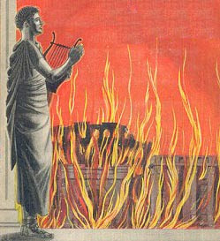 Nero fiddled whilst Rome burnt