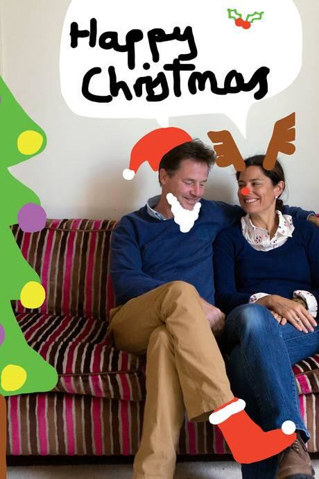 Nick and Miriam Clegg's 2013 Christmas Card