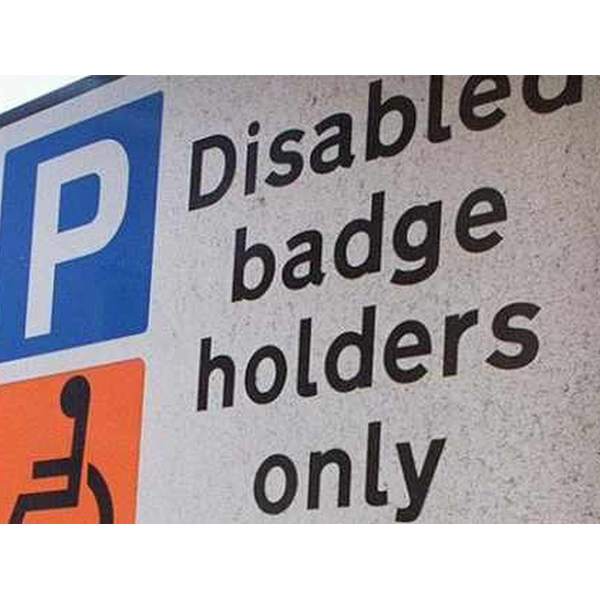 Disabled badge