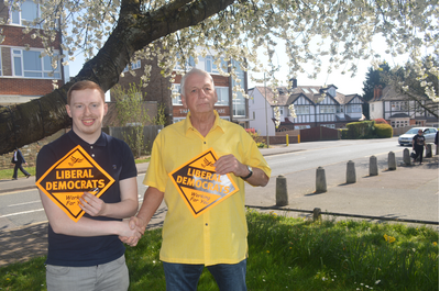 Cllr Barry Aspinell and Brenner Munden (Karen Chilvers)