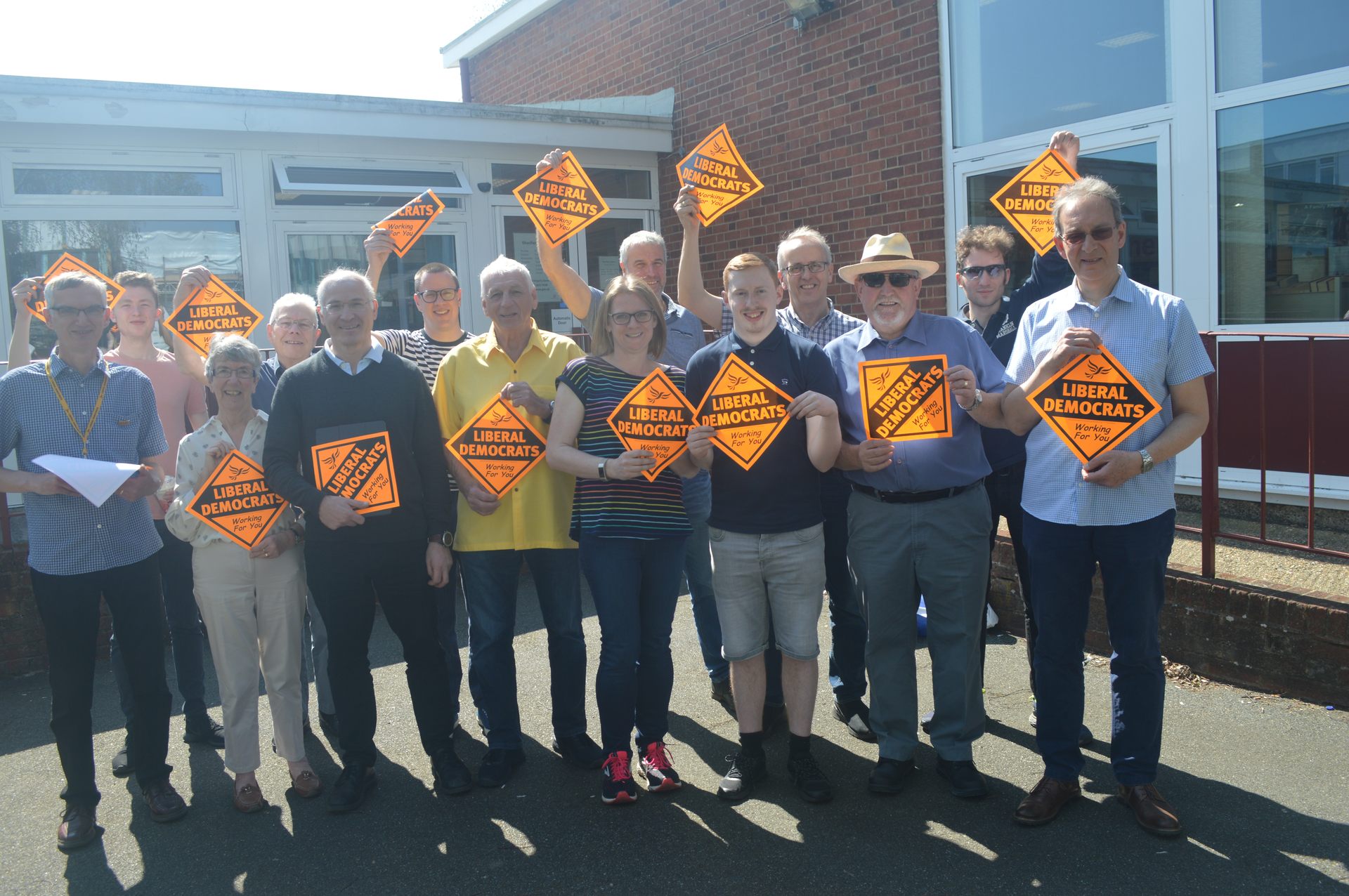 Lib Dems in Brentwood (Karen Chilvers)