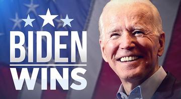 Joe Biden wins