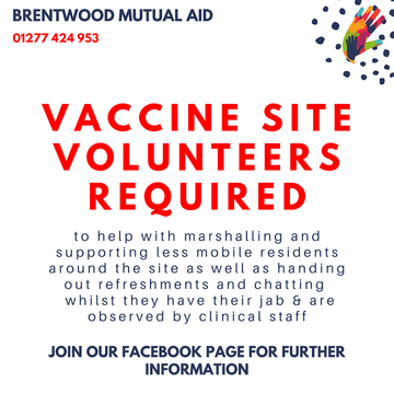 Covid vaccines (Brentwood Mutual Aid)