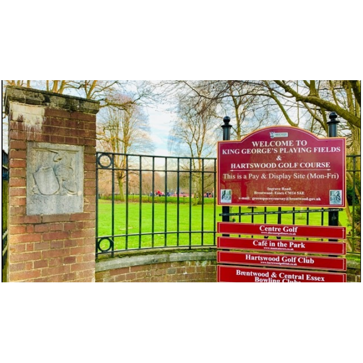 King Georges Park in Brentwood